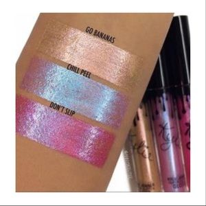 """Kylie Cosmetics Makeup - Kylie """"Go bananas 🍌 """" gloss ( selling as duo)"""